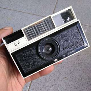 Kamera analog Agfamatic 126 *Display only*
