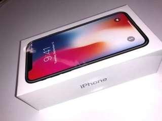 iPhone X 256GB 太空灰 whatsapp +14373708323