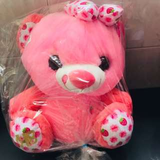 Milky Heart Bear plushy