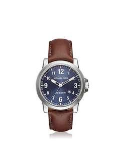 Michael Kors Paxton Silver-Tone Watch MK8501
