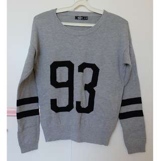 Grey 93 Knit Jumper