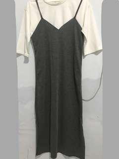 2 pcs baju dress n blouse