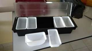 Sauce/Condiment storage rack 6 compartments