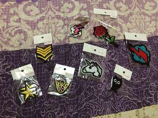 Cute Patches- Get all for Php 150