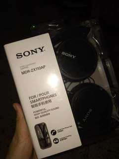 Sony Headset- pero legit with warranty( once lang nagamit)