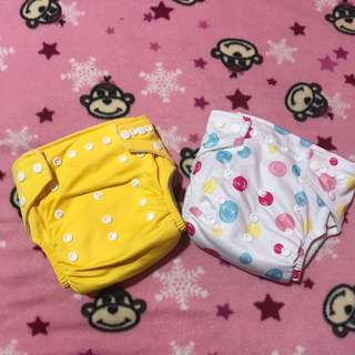 Branded diaper clothes
