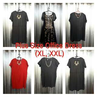 Pre Loved Plus Size Office Blouse & Dress