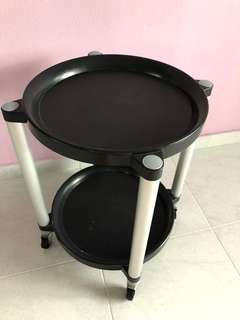 Mini Portable Table with Wheels