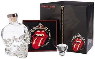 BN Crystal Head Vodka Rolling Stones 50th Anniversary Limited Edition Gift Pack