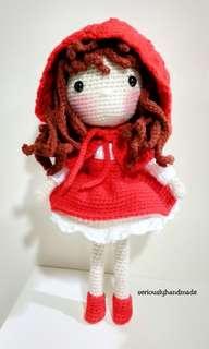 Crochet Red Riding Hood Doll / Amigurumi