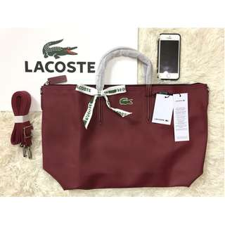 Authentic Lacoste Bag (Maroon or Turquoise)