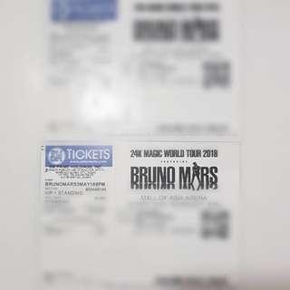 Bruno Mars VIP1 standing