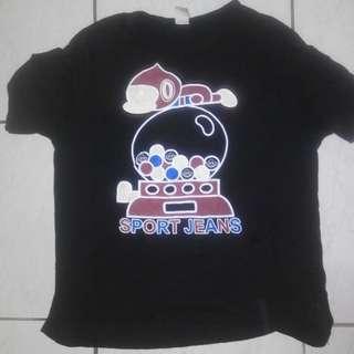 🚚 2015 黑色 Tshirt