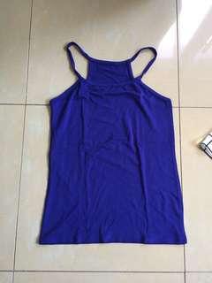 Basic blue cami