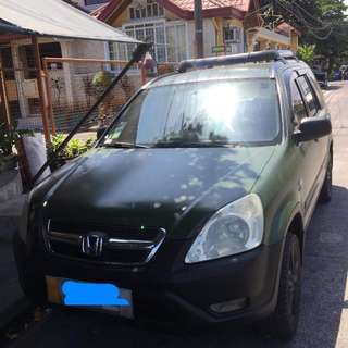 For sale 272k negotiable upon viewing  2003 model Honda crv Manual transmission Good engine Topload 17s mags with thick tires Matte green color Registered Complete papers