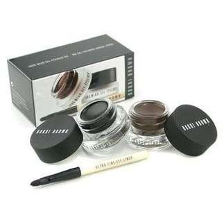 Bobbi Brown Longwear Gel Eyeliner Set( Black & Sephia ink)