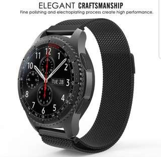 Samsung Gear S3 Frontier Strap Instock - Mesh type