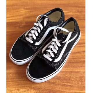 范斯 Vans old school 經典款帆布鞋