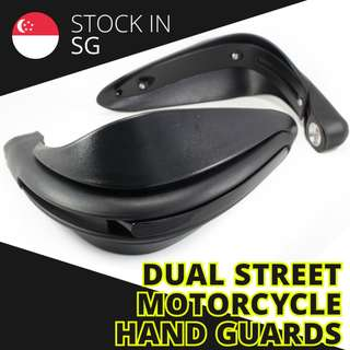 Dual Street Motorcycle Hand Guards