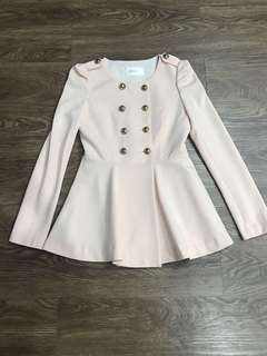 Cream Coat - Korean style
