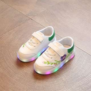 floral light up shoe