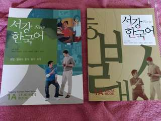 SOGANG KOREAN NEW SERIES. Textbook and work book