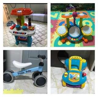 Baby walker & music toy