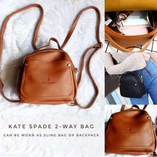 Kate Spade ♤ Sling/Backpack Bag
