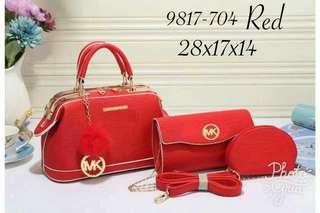 Handbag MK 3IN1  #9817