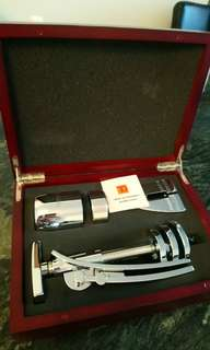 Wine opener boxset 紅酒開瓶器 實木 木盒 超重 保存良好