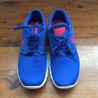 Nike Blue Stefan Janoski Sneakers