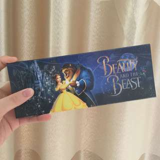 CHILDREN PENCIL CASE ( BEAUTY AND THE BEAST ) - KOTAK PENSIL ANAK ANAK