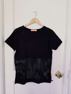 GTWfab black mesh top