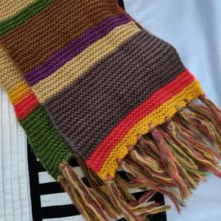 Official Doctor Who Tom Baker Scarf