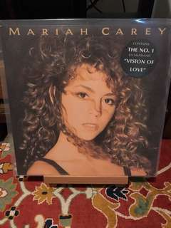 Rare Audiophile Vinyl LP Mariah Carey First Pressing