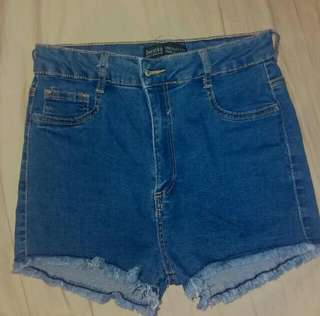 Bershka Highwaist Shorts