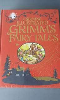 BN Usborne Illustrated Grimm's Fairy Tales
