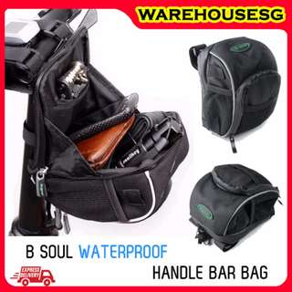 B-soul Handlebar Pouch / Bicycle Front Bag