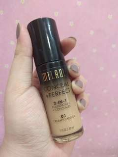 Milani Conceal + Perfect 2 in 1 Foundation Concealer