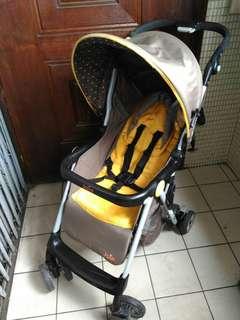 奇哥 jole 輕便城市推車 嬰兒車 娃娃車 活力黃 品項大 限自取
