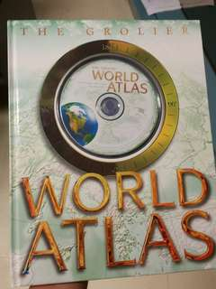 World Atlas with Cd