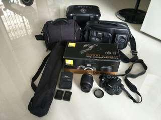 Pre-loved Nikon D3100