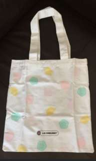 Le creuset bag 全新環保袋 34cm x 31.5 cm