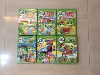 Preloved Leapfrog DVDs
