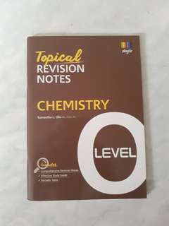 O Level Topical Revision Notes
