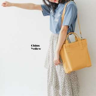Chins Canvas Tote Bag