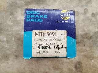 Honda Civic FD Front Disc Brake Pad