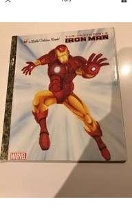 The Invincible Iron Man - Little Golden Book