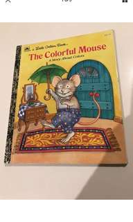 The Colorful Mouse - Little Golden Book