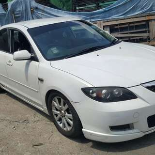 MAZDA SP 3 1.6(A) 2008 FULL BODYKIT